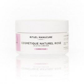 COSMÉTIQUE NATUREL ROSE UV/LED 40g - GEL DE CONSTRUCTION ROSE