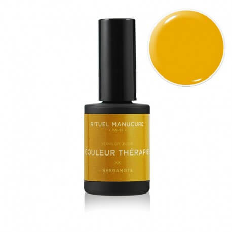 BERGAMOTE - VERNIS PERMANENT 15ML - JAUNE